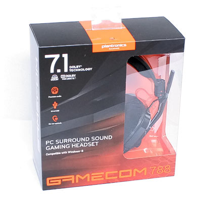 Headset Plantronics Gamecom 788 7.1 USB