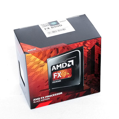 CPU AMD AM3+ FX-9590  8x4,7Ghz 16MB  Box