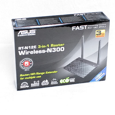 WLAN Router ASUS RT-N12E 300Mbit