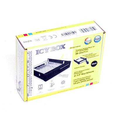 HDD Wechselrahmen IcyBox IB-2217StS