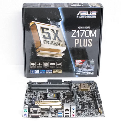 Mainboard 1151 ASUS Z170M-Plus      DDR4