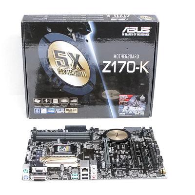 Mainboard 1151 ASUS Z170-K          DDR4