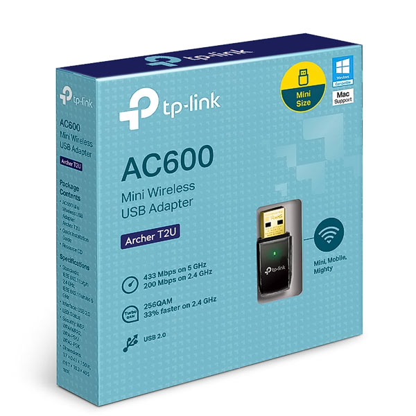 WLAN USB-Stick TP-Link Archer T2U   600M