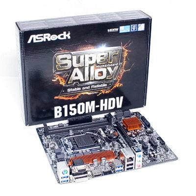 Mainboard 1151 ASRock B150M-HDV     DDR4