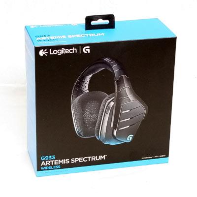 Headset Logitech G933 Artemis Spectrum