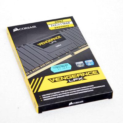 Speicher DDR4 16GB 2400/14 Kit Corsair V