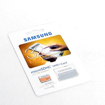 SD-Micro Card 32GB Samsung EVO