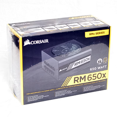 Netzteil 650W ATX Corsair RM650x 80+Gold