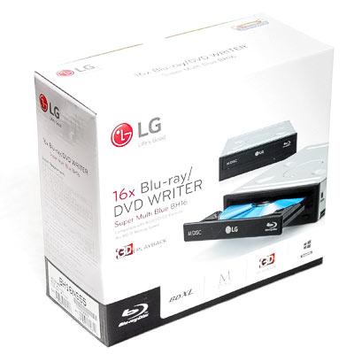 Blu-Ray Writer SATA LG BH16NS55 Retail