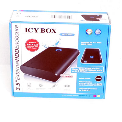 HDD Zub.Gehäuse 8,89cm SATA ICYBOX  USB3