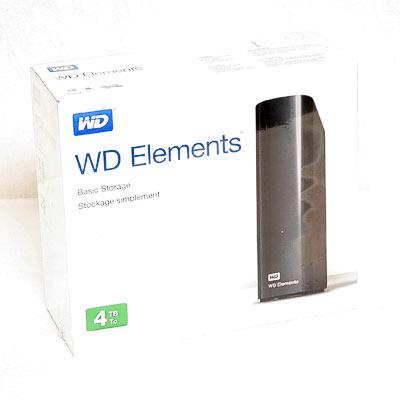 HDD ext.8,89cm 4TB WD Elements USB3.0
