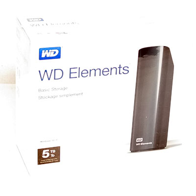 HDD ext.8,89cm 5TB WD Elements USB3.0