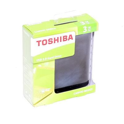 HDD ext.6,35cm 3TB Toshiba USB3.0
