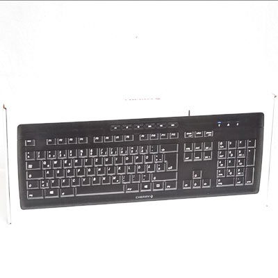Tastatur Cherry Stream 3.0 black DE