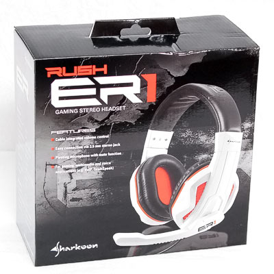 Headset Sharkoon Rush ER1