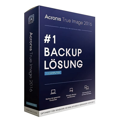 Software Acronis True Image 2016 für PC