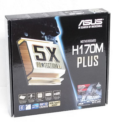 Mainboard 1151 ASUS H170M-PLUS      DDR4