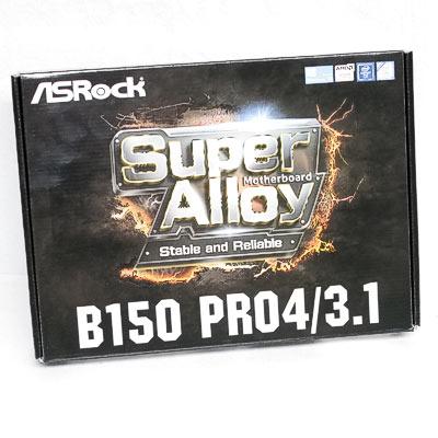 Mainboard 1151 ASRock B150 Pro4/3.1 DDR4