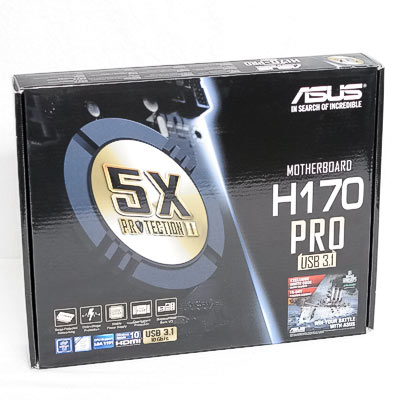Mainboard 1151 ASUS H170-Pro/USB3.1 DDR4