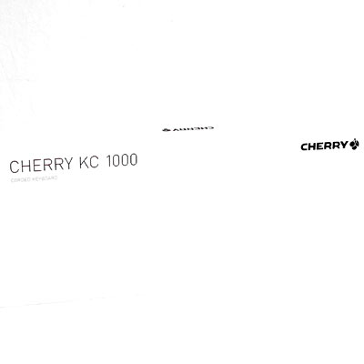 Tastatur Cherry KC 1000 black USB