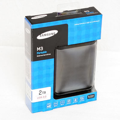 HDD ext.6,35cm 2TB Samsung S3 USB3.0