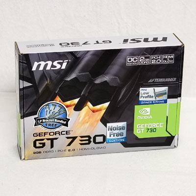 Grafik PCIe NVIDIA GT730 2GB MSI passiv
