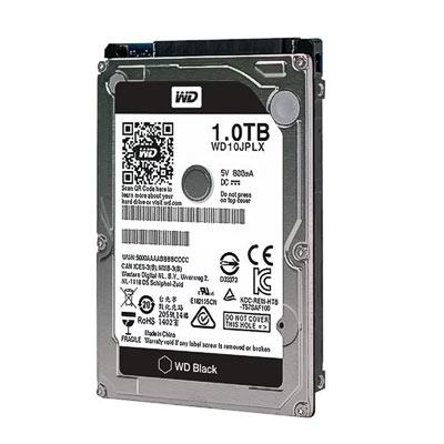 """HDD 2,5"""" SATA 1,0TB WD10JPLX Black"""