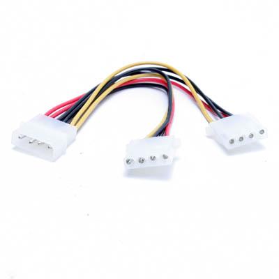 ZKabel Stromverteiler 1x4Pin auf 2x4Pin
