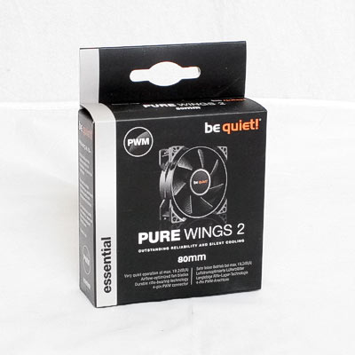 Lüfter 80mm bequiet Pure Wings 2 PWM