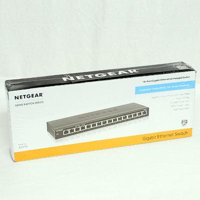 Netzwerk Switch 16Port Netgear GS316