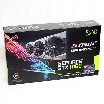 Grafik PCIe NVIDIA GTX1060 6GB ASUS S.OC