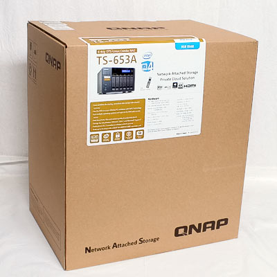 NAS Geh.QNAP TS-653A mit 8GB RAM
