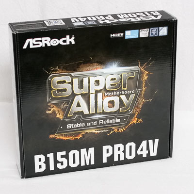 Mainboard 1151 ASRock B150M Pro4V