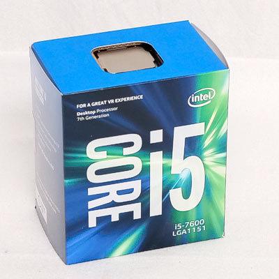 CPU INTEL 1151 7.Core i5-7600  4x3,50Ghz