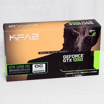 Grafik PCIe NVIDIA GTX1050 2GB KFA2 OC