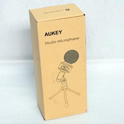 AUKEY Kondensator Mikrofon mit T.Stativ