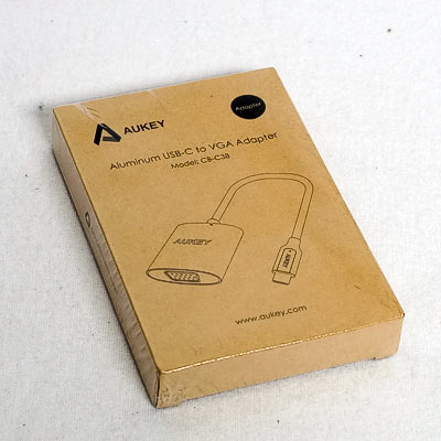 AUKEY USB Typ C zu VGA Konverter-Adapter