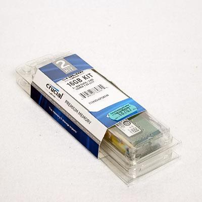 Speicher DDR4 16GB 2400/17 Kit Crucial