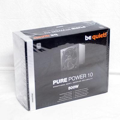 Netzteil 500W ATX BeQuiet Pure Power 10