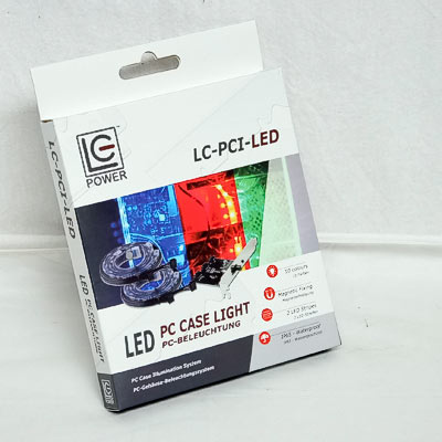 LED RGB Set 2x30cm LC-Power LC-PCI-LED