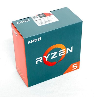 CPU AMD AM4  Ryzen 5 1600X  6x3.6Ghz Box