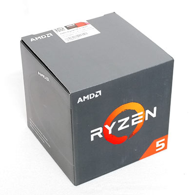 CPU AMD AM4  Ryzen 5 1400   4x3,4Ghz Box