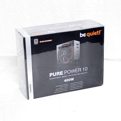 Netzteil 400W ATX BeQuiet Pure Power10CM
