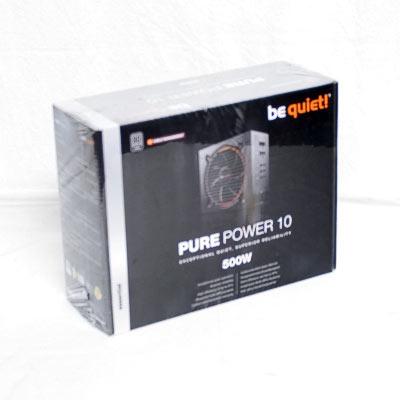 Netzteil 500W ATX BeQuiet Pure Power10CM