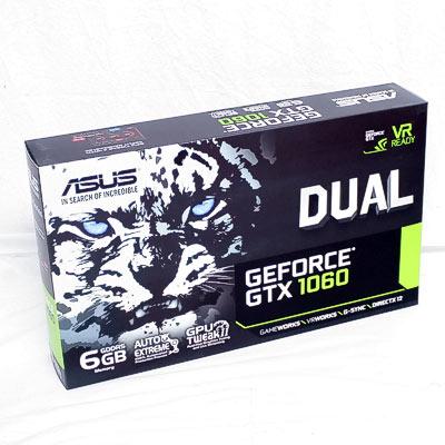 Grafik PCIe NVIDIA GTX1060 6GB ASUS Dual