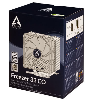 Kühler Arctic Freezer 33 CO
