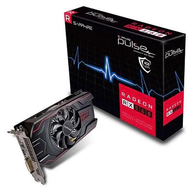 Grafik PCIe AMD RX 560 4GB Sapphire Pul.