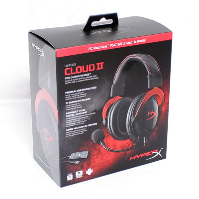 Headset HyperX Cloud II 7.1 Surround