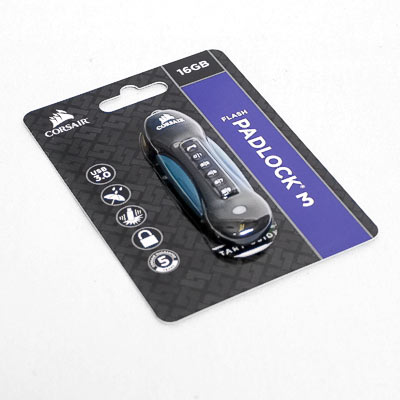 USB 3.0 Stick 16GB Corsair Padlock 3