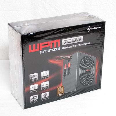 Netzteil 700W ATX Sharkoon WPM700